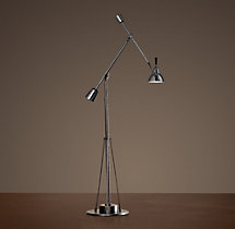 Counterpoise Task Floor Lamp Bronze