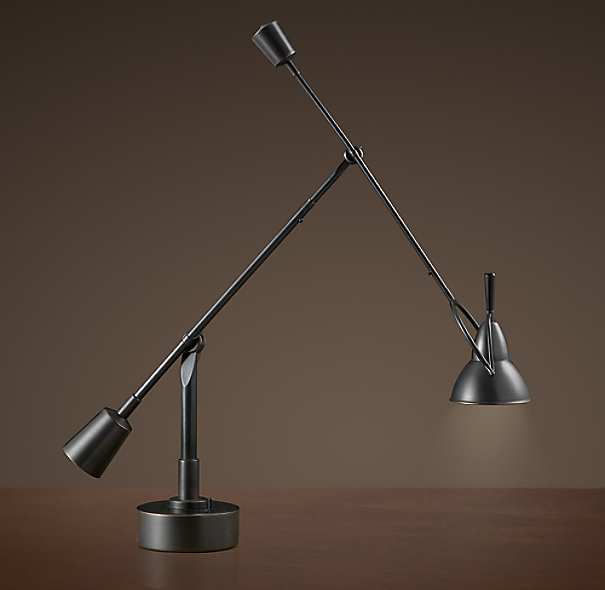 Counterpoise Task Table Lamp Bronze