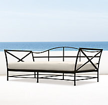Carmel Daybed Painted Metal