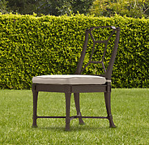 Antibes Side Chair Painted Metal