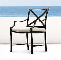 Carmel Armchair Painted Metal