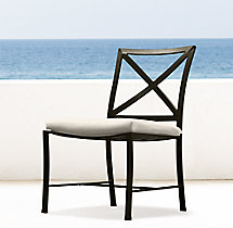 Carmel Side Chair Painted Metal