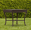 Antibes Side Table Painted Metal
