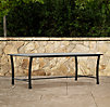 Carmel Luxe Coffee Table Painted Metal