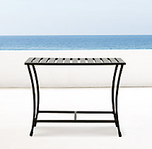 Carmel Side Table Painted Metal