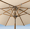 Teak Octagonal Umbrella