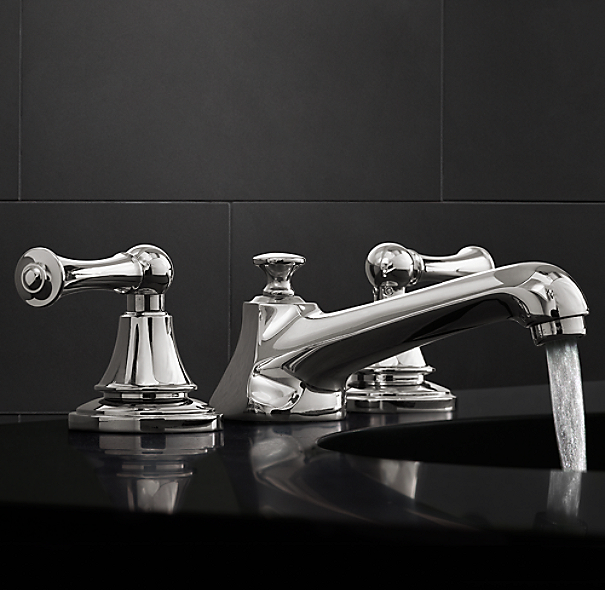 Chatham Lever Handle 8 Widespread Faucet Set