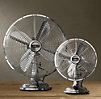 Allaire Desk Fan Brushed Nickel