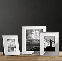 Hampton Wide Silver-Plated Frames