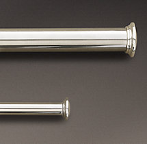 Estate Extension Rod Silver