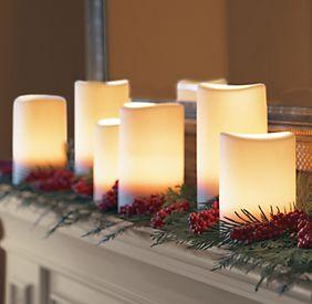 Pillar Candle Light String