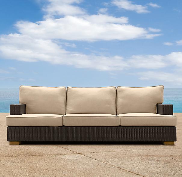 """90"""" Del Mar Sofa Cushion"""