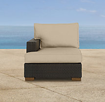 Del Mar Left-Arm Chair Cushions