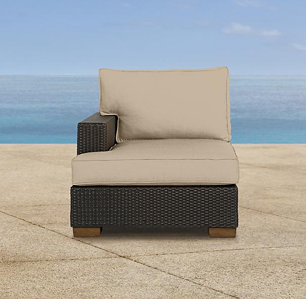 Del Mar Left-Arm Chair Cushion