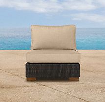 Del Mar Armless Chair Cushion
