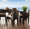 Del Mar Rectangular Dining Table Espresso