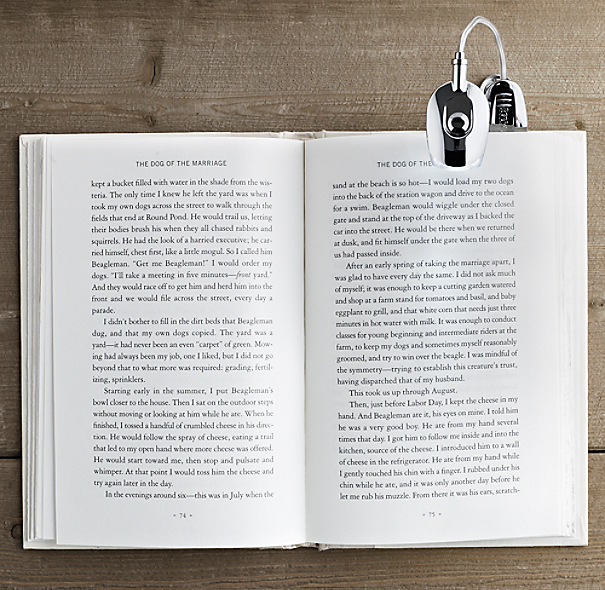 Deluxe Clip-On Booklight