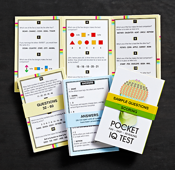 Pocket IQ Cards