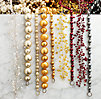 Vintage Glass Garland - Clear