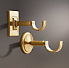 Estate Center Bracket Brass