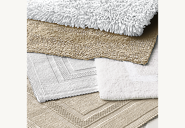 Cotton Woven Bath Rugs