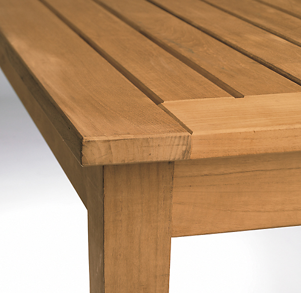 Santa Barbara Rectangular Extension Table