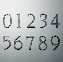 Verdi House Numbers