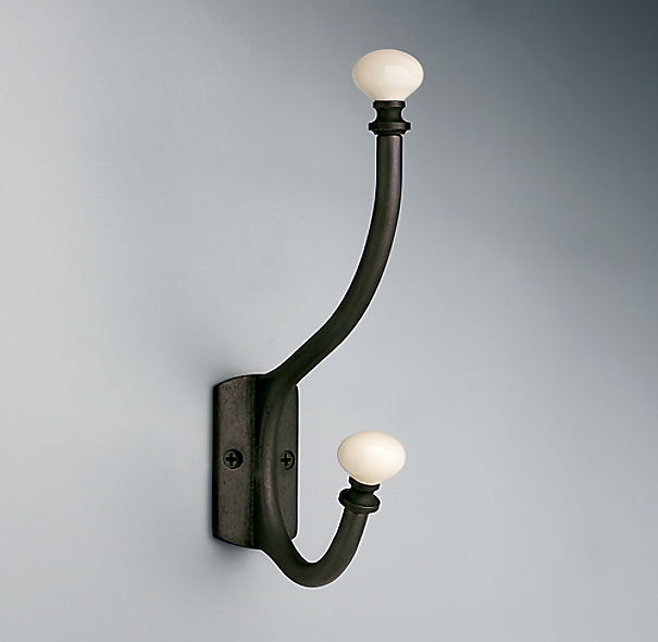 Ceramic Hook-White