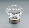 Traditional Clear Glass Knob