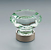 Traditional Green Glass Knob