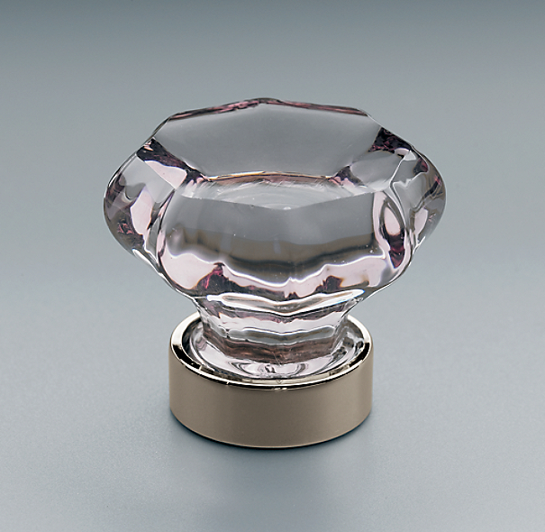 Traditional Violet Glass Knob