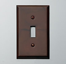Metal Single Switch Plate