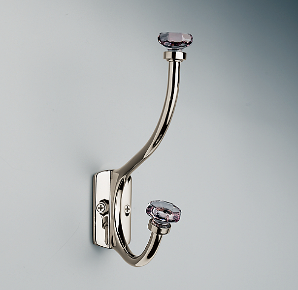 Traditional Violet Glass Hook