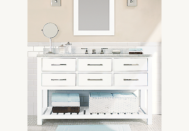 Hutton Extra-Wide Single Washstand Base