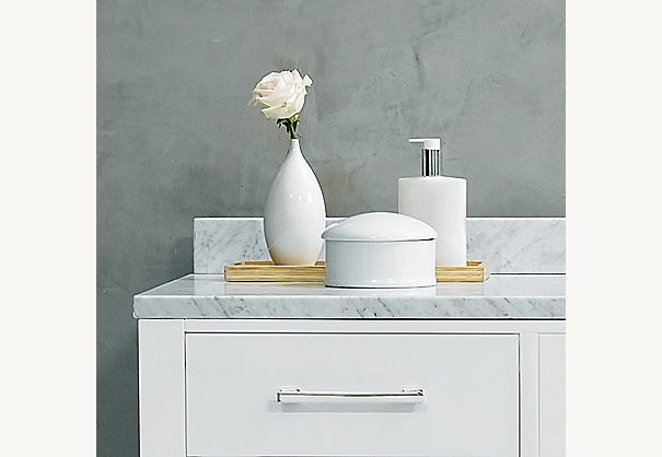 Hutton Double Vanity Sink Base