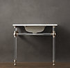 Gramercy Single Glass Washstand Base