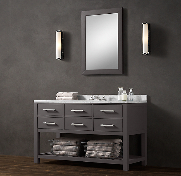 Hutton Extra-Wide Single Washstand