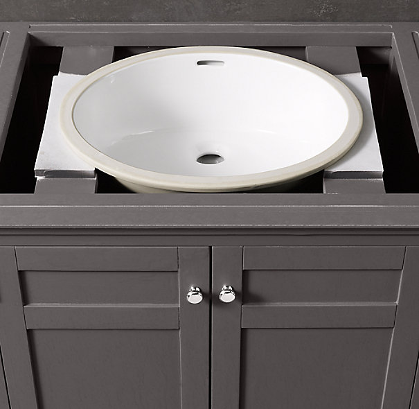 Cartwright Extra-Wide Single Vanity Sink Base