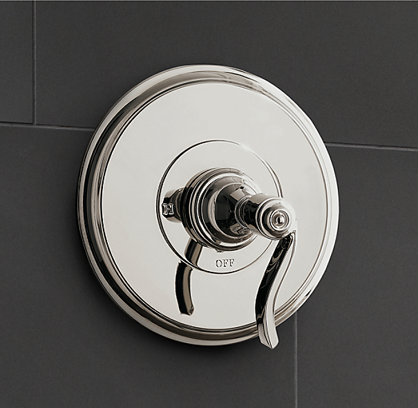 Campaign Balance-Pressure Shower Valve & Trim Set (Backplate)