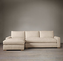Maxwell Upholstered Left-Arm Sofa Chaise Sectional