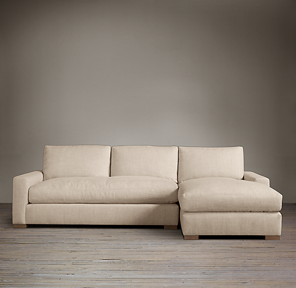 Maxwell Upholstered Sofa Chaise Sectionals