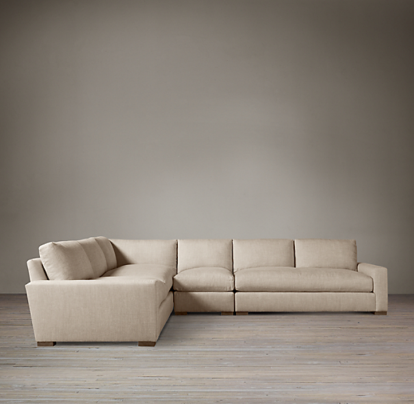 Maxwell Upholstered Left-Arm L-Sectional