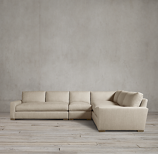 Maxwell Upholstered L-Sectional