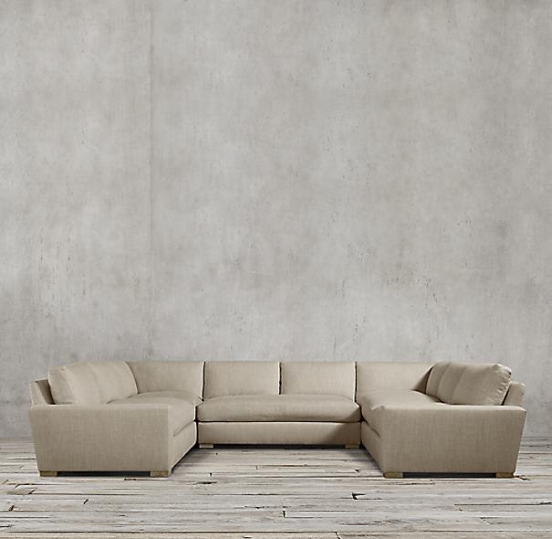 Maxwell Upholstered U Sofa Sectional