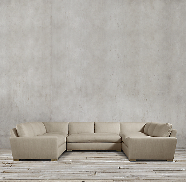 Maxwell Upholstered U-Sofa Sectional