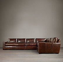 Maxwell Leather L-Sectional