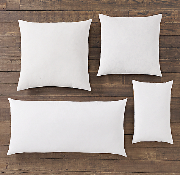 Feather Accent Pillow Inserts