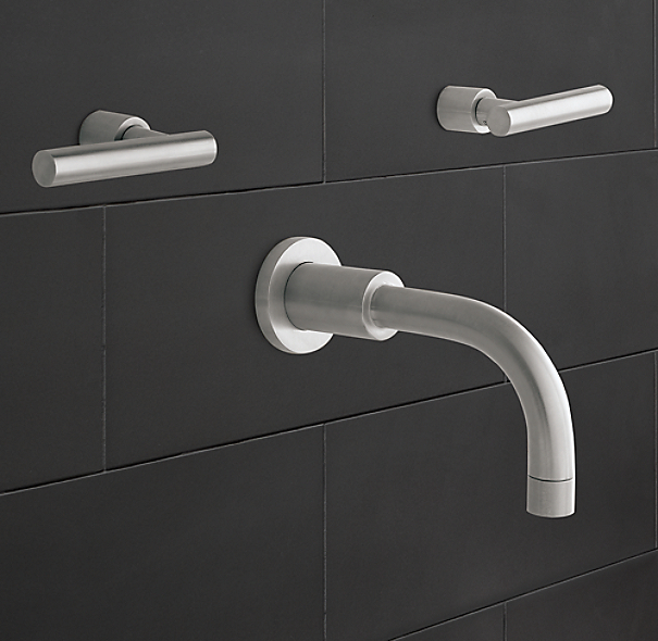 Spritz Wall-Mount Tub Fill Set