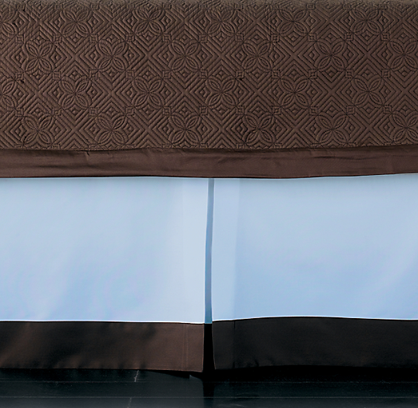 Italian Framed Sateen Bed Skirt