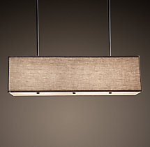 Rectangular Shade Pendant